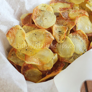 Irresistible Baked Potato Chips.