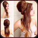 Latest Girls hair style icon