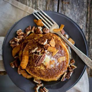 Pumpkin Butter Pancakes.