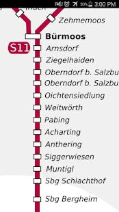 oberdorf ausztria térkép Salzburg Rail Map   Android Apps on Google Play oberdorf ausztria térkép