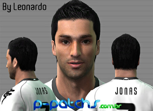 Jonas Face para PES 2011 PES 2011 download P-Patchs