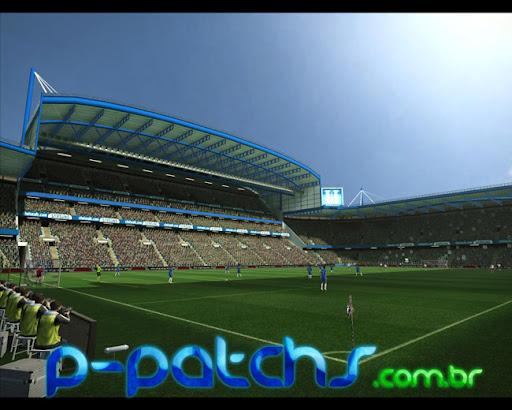 Estádio Stamford Bridge para PES 2011 PES 2011 download P-Patchs