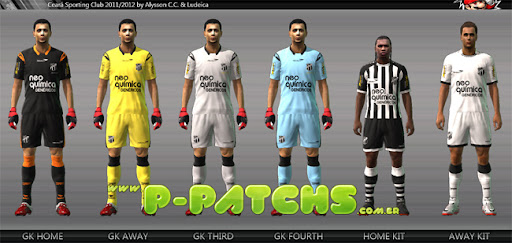 Ceará Kitset 11-12 para PES 2011 PES 2011 download P-Patchs