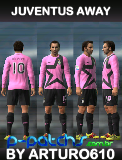 Juventus Away 11-12 para PES 2011 PES 2011 download P-Patchs