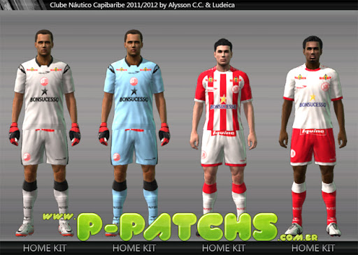 Náutico Kitset 11-12 para PES 2011 PES 2011 download P-Patchs