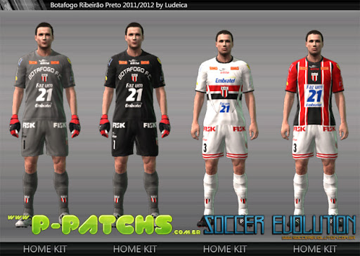 Botafogo SP Kitset 11-12 para PES 2011 PES 2011 download P-Patchs