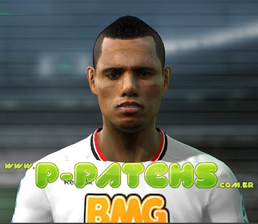 Luís Fabiano Face para PES 2011 PES 2011 download P-Patchs