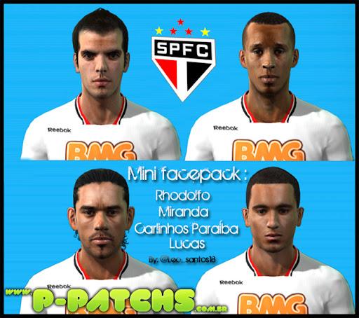 São Paulo Facepack #2 para PES 2011 PES 2011 download P-Patchs