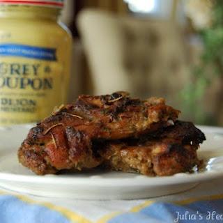 Chicken with Dijon Glaze - Freezer Bag Meal.
