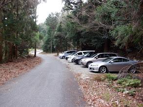 帰りには多くの車が止まっている