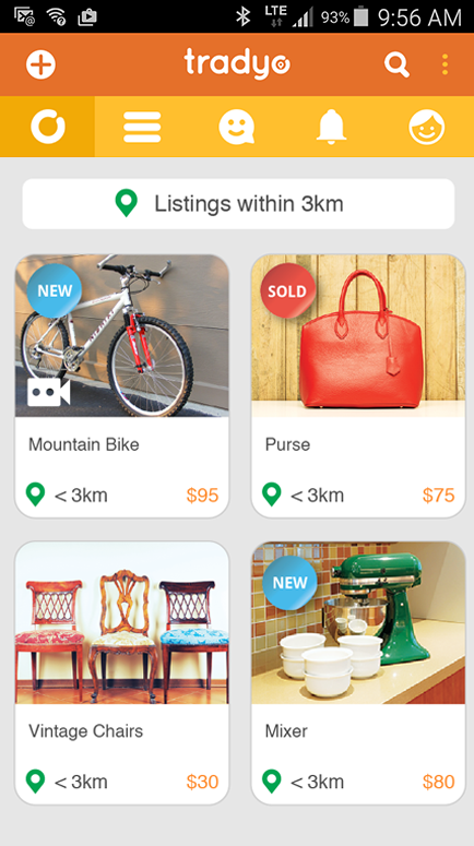 Tradyo: Buy & Sell locally- screenshot