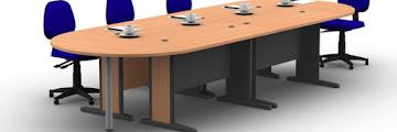 4 Jenis Meja Kerja Kantor Yang Cocok Untuk Meeting, Simak Disini!