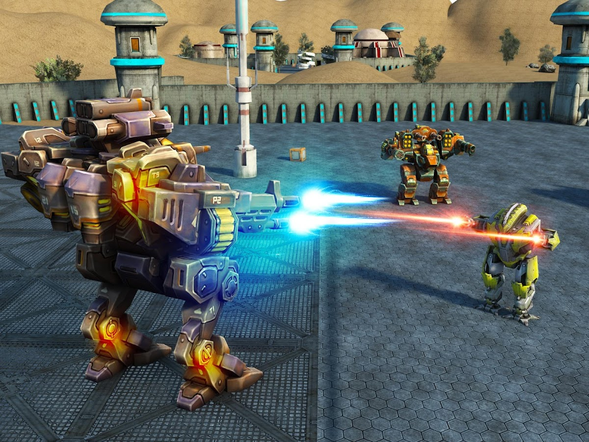 Mech Robot War 2050- screenshot