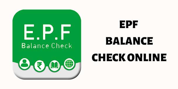 EPF Balance Check Online 1