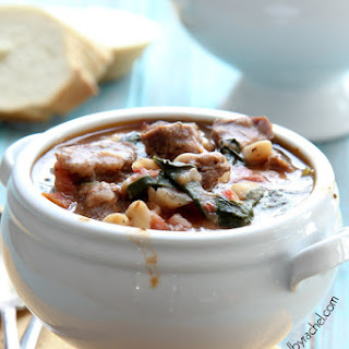 Slow Cooker Beef and White Bean Stew.