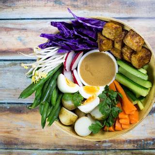 Gado Gado (Indonesian Salad).
