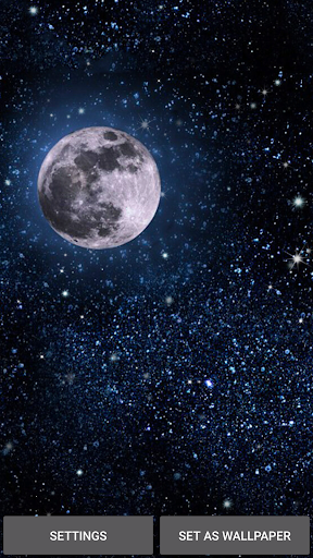 Moonlight Live Wallpaper 4.0 screenshots 3