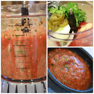Canned Tomato Salsa.