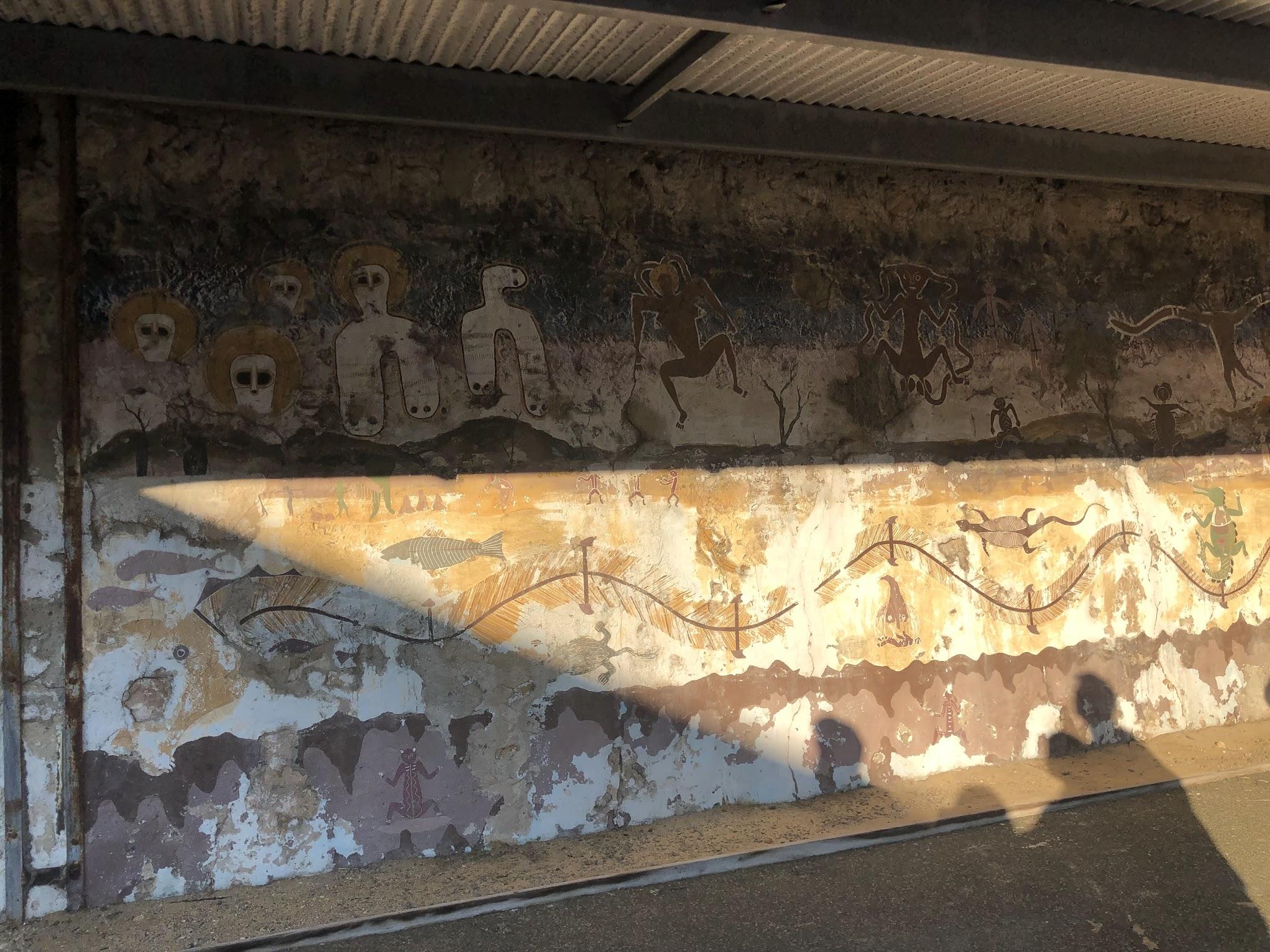 フリーマントル刑務所壁画