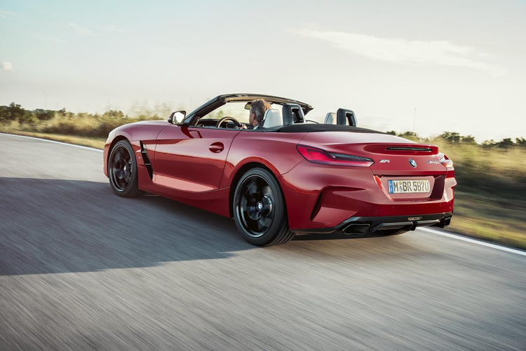 The rear of the BMW Z4, revealed in 2018, is very different but shows a new design language that could appear in other models.