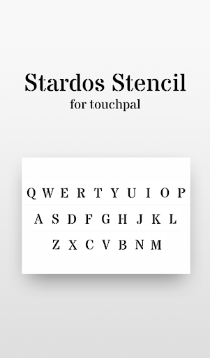 Free Stardos Stencil Cool Font