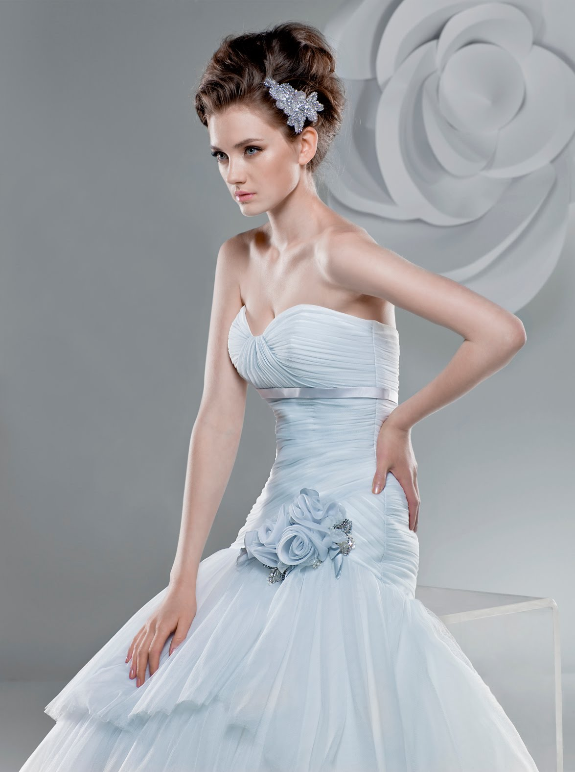 a bridal gown color (yes,
