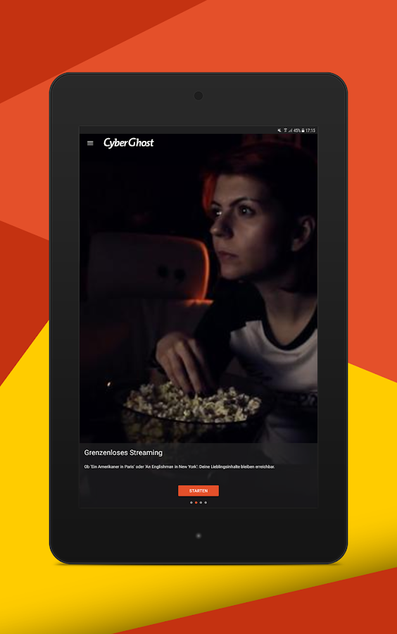 CyberGhost VPN – Screenshot