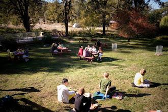 Photo: Yoga Farm, Grass Valley, CA - outdoor quiet time