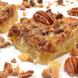 Turtle Dream Bars Recipe from Platter Talk