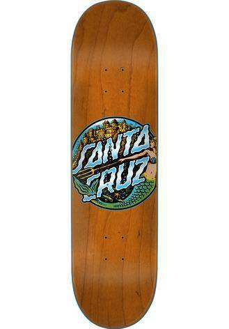 Santa-Cruz - Mermaid Dot Skateboard Deck