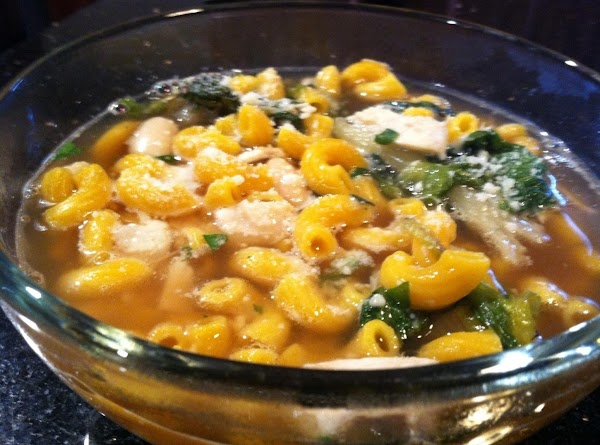 U CAN MAKE THIS A DELICIOUS SOUP SIMPLY BY ADDING WARMED CHICKEN OR BEEF...