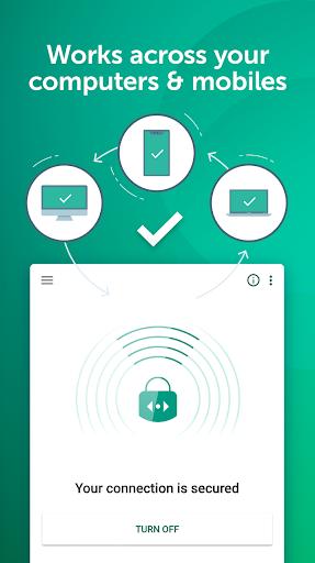 Fast Free VPN – Kaspersky Secure Connection screenshot 3