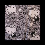 Photo: *Hello Kitty Phrases* *hard to find fabric