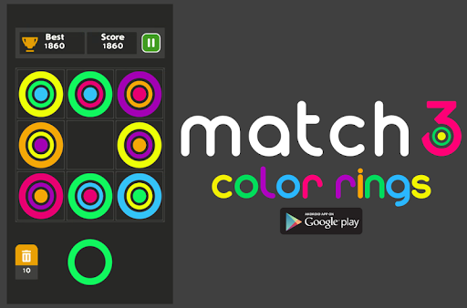 Match 3 Color Ring - Puzzle Board Game 2020 1.0.8 screenshots 1