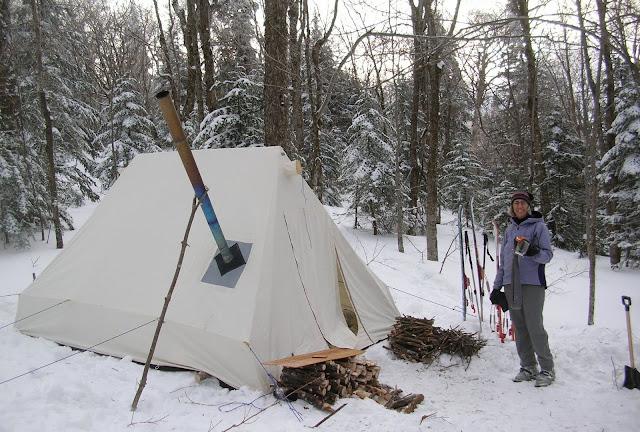 & Snowtrekker tent swap