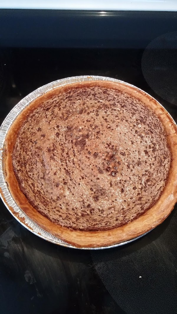 For my fudge pie just omit the peanut butter. See pictures
