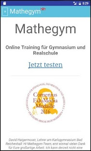 Mathegym | Aufgaben+Videos- screenshot thumbnail