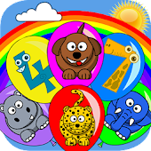 🎈Colorful Animal Balloon : Popping Balloons Games