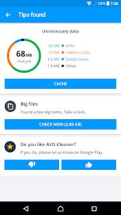 AVG Cleaner – Speed, Battery & Memory Booster 3