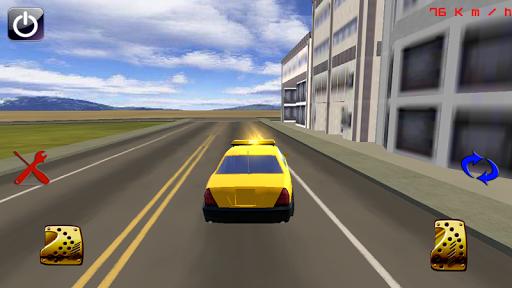 瘋狂出租車駕駛模擬器三維
