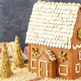 Nutty Gingerbread House.