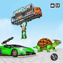 Turtle Transform Robot Game icon