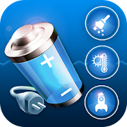 Battery saver Charge booster CPU Cooler Cleaner APK icon