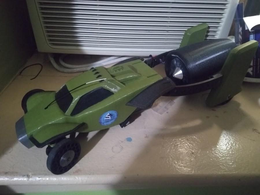 3D Printed Jet-Powered Open Source RC Racer | MatterHackers