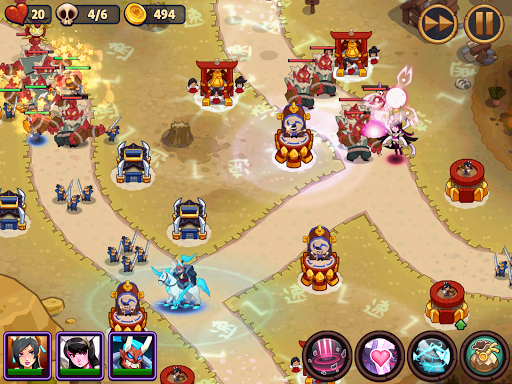 Realm Defense: Epic Tower Defense Strategy Game screenshot 8
