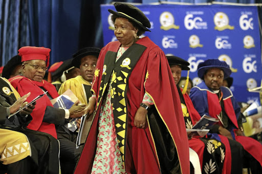 Nkosazana Dlamini-Zuma calls for tolerance as new varsity chancellor