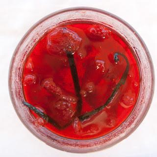 Strawberry-Lime Vanilla Jam