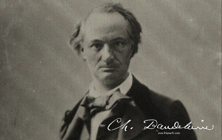 Charles Baudelaire Bendición Trianarts