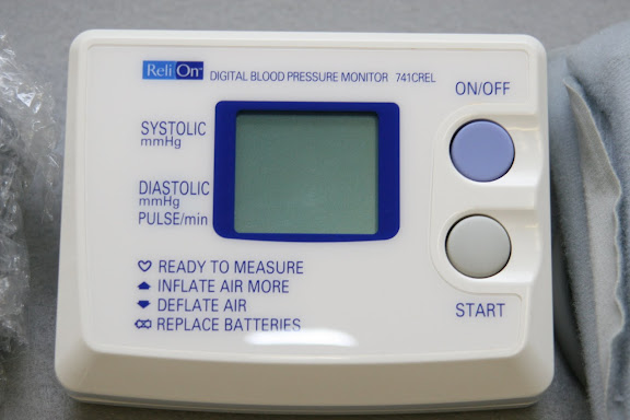 how much does a blood pressure machine cost