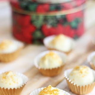 Red Velvet and Green Velvet Cake Truffles